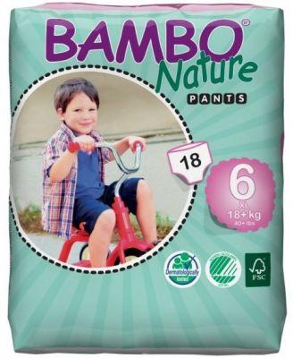 BAMBO NATURE Pants XL (18+ kg) 18 ks - plenkové kalhotky