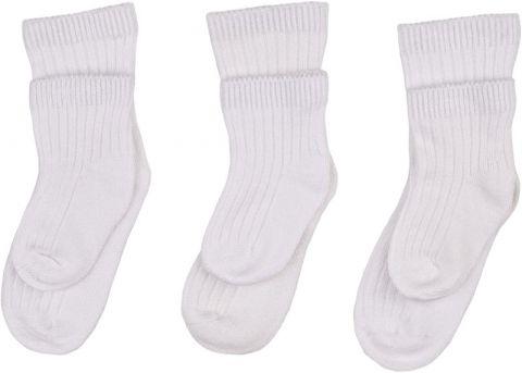KIKKO BMB Bambusové ponožky Pastels - Biele 63d99950c6