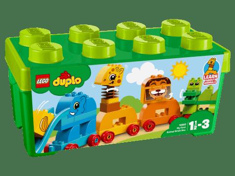LEGO® DUPLO® 10863 Môj prvý box so zvieratkami