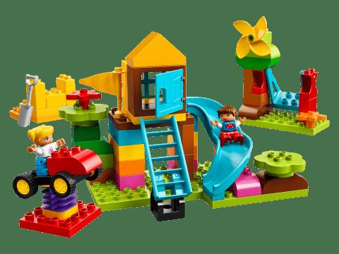 LEGO® DUPLO® 10864 Veľký box s kockami na ihrisko