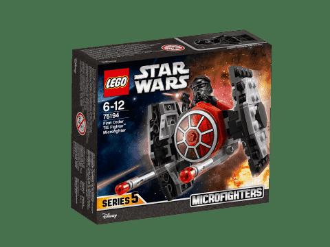 LEGO® Star Wars 75194 Mikrostíhačka Prvního řádu TIE Fighter™