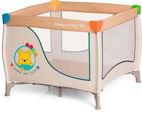 HAUCK Łóżeczko turystyczne Sleep'n Play SQ – Pooh Ready To Play  2018