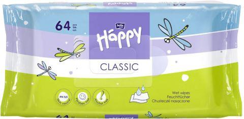 BELLA HAPPY BABY Classic 64 ks - vlhčené ubrousky