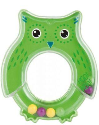 CANPOL BABIES Chrastítko sova - zelené