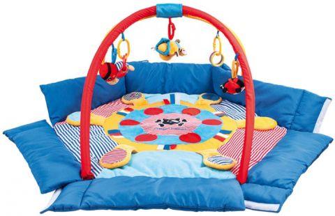 CANPOL BABIES Multifunkční hrací deka - Piráti