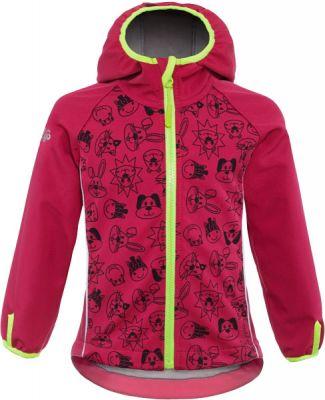 GOOD2GO Softshellová bunda růžová - vel. 86
