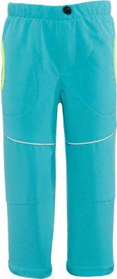 GOOD2GO Softshellové kalhoty modré - vel. 80