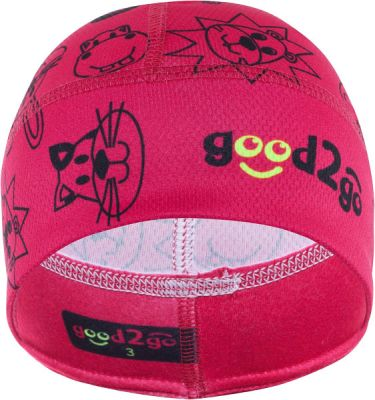 GOOD2GO Funkční čepice Micro Cool Max růžová - vel. 1