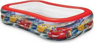INTEX Bazén dětský nafukovací Auta/Cars 103x69x22 cm