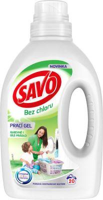 0a1840e19 SAVO Bez chlóru Universal prací gél na biele a farebné prádlo 20 praní