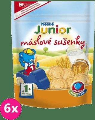 6x NESTLÉ Junior Máslové sušenky (180 g)