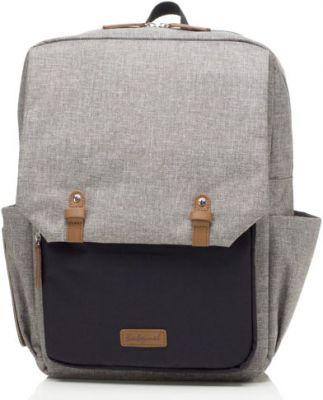 BABYMEL Přebalovací taška George Backpack Black/Grey