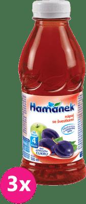 3x HAMÁNEK So slivkami (500 ml) – nápoj