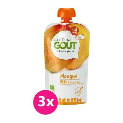 3x GOOD GOUT BIO Mango 120 g
