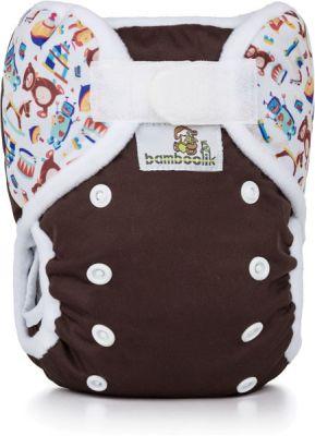 BAMBOOLIK Svrchní kalhotky Čokoláda + Hračky