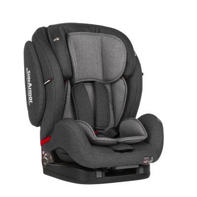 PETITE&MARS Autosedačka Prime II (9-36 kg) - Isofix Grey 2018