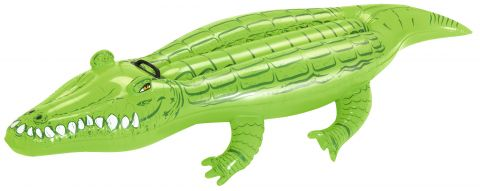 BESTWAY Nafukovací krokodíl s držadlom, 167 x 89 cm