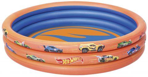 BESTWAY Bazén nafukovací Hot Wheels, 122 cm x 25 cm