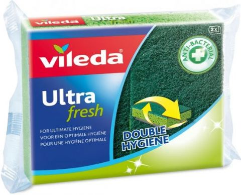VILEDA Ultra Fresh špongia 2 ks