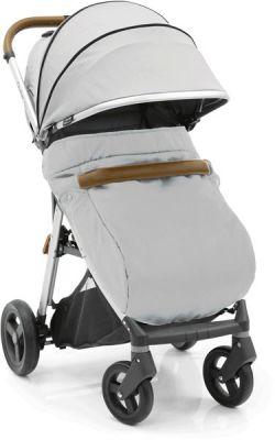 BABYSTYLE OYSTER Zero nánožník ke kočárku - Pure Silver