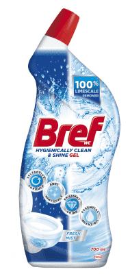 BREF Power aktiv Ocean 700 ml - Tekutý WC čistič