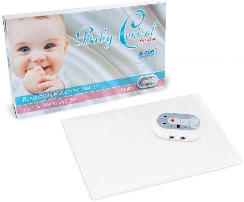 BABY Control Digital BC-200 s jednou senzorovou podložkou - monitor dechu