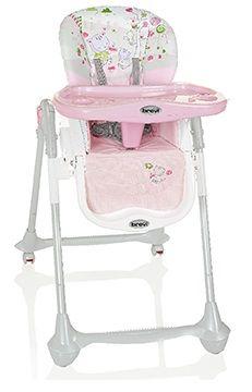 4666275c27bd BREVI Convivio Detská jedálenská stolička – ružová