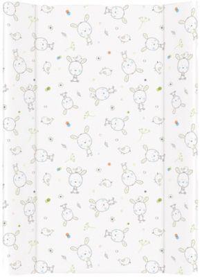 CEBA Přebalovací podložka tvrdá MDF 70x50 cm Dream puntíky – bílá
