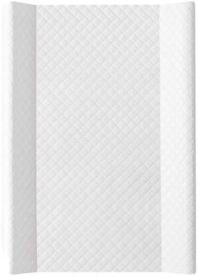 CEBA Přebalovací podložka měkká 70 cm Caro – bílá