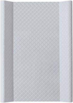 CEBA Přebalovací podložka měkká 70 cm Caro – šedá