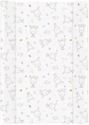 CEBA Přebalovací podložka měkká 70 cm Dream puntíky – bílá