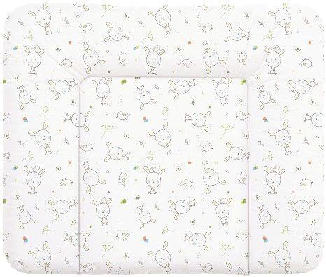 CEBA Přebalovací podložka na komodu 85 x 72 cm Dream puntíky – bílá