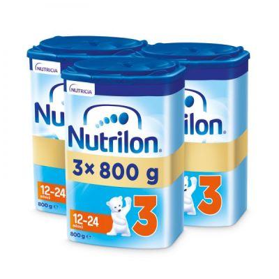 3x NUTRILON 3 (800g) - kojenecké mléko
