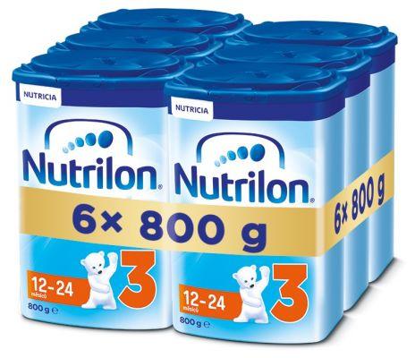6x NUTRILON 3 (800g) - dojčenské mlieko