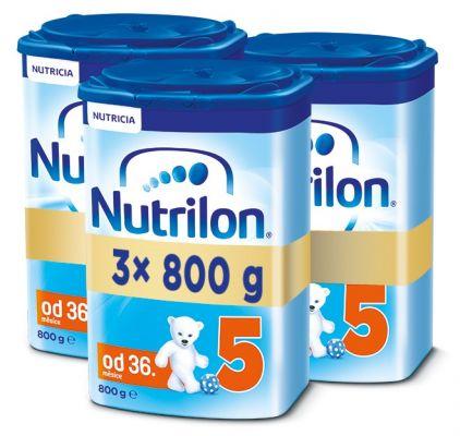 3x NUTRILON 5 (800g) - dojčenské mlieko