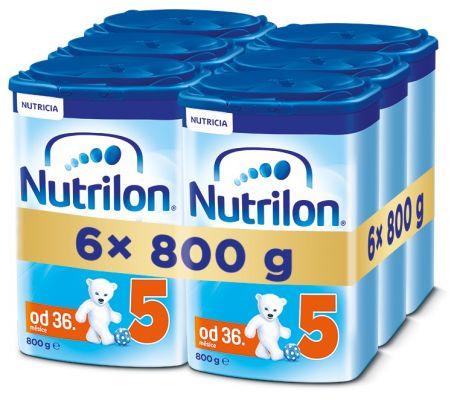 6x NUTRILON 5 (800g) - kojenecké mléko