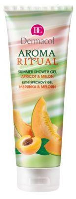 DERMACOL Aroma Ritual Meruňka a meloun – sprchový gel 250 ml