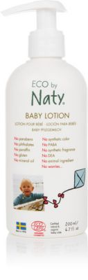 NATY NATURE BABYCARE Dětské tělové mléko 200 ml