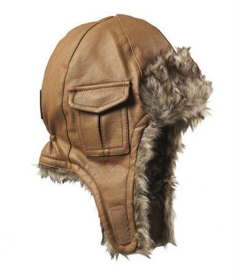 ELODIE DETAILS Čepice ušanka – Chestnut Leather 6-12m  0dfeb360b6
