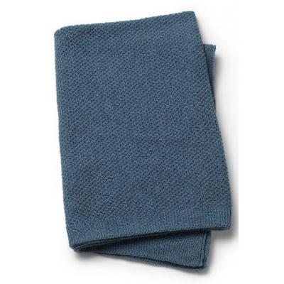 ELODIE DETAILS Pletená deka 70x100 cm – Tender Blue