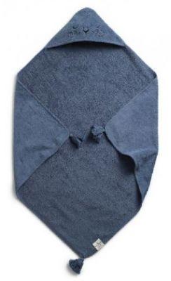 ELODIE DETAILS Osuška s kapucňou 80x80 cm – Tender Blue