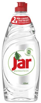JAR Pure & Clean 650 ml – mycí prostředek na nádobí