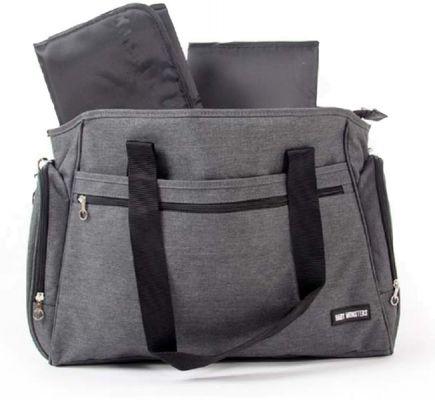 BABY MONSTERS Universal přebalovací taška šedá