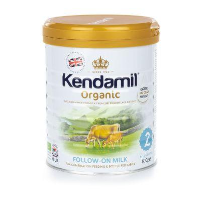 KENDAMIL 100% BIO/organické plnotučné pokračovací mléko 2 (800g)