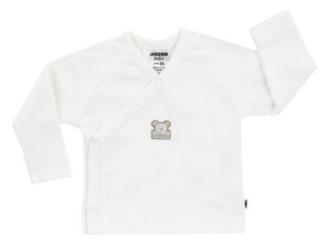 JACKY Zavinovací triko dlouhý rukáv NOS BEAR smetanově bílá - vel. 56