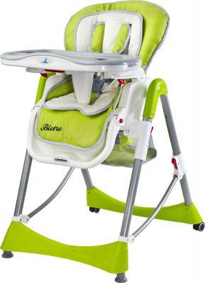 CARETERO Jídelní židlička Bistro – green