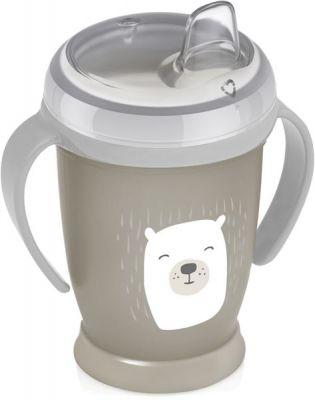 LOVI Hrníček nevylévací Buddy Bear 250 ml (12m+)