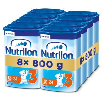 8x NUTRILON 3 (800g) - kojenecké mléko