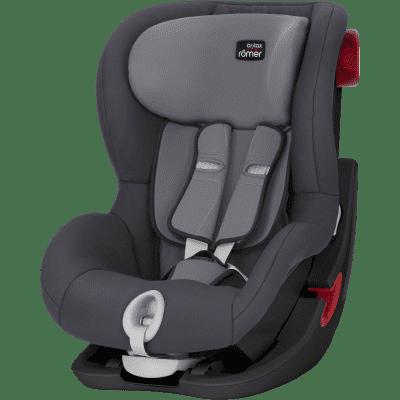 BRITAX RÖMER Autosedačka King II Black (9-18 kg) – Storm Grey 2018