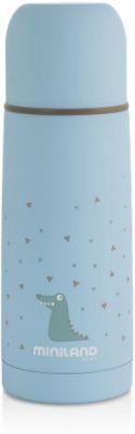 MINILAND Termoska Silky 350 ml – Blue  3aae52d179b